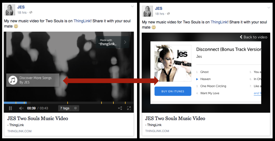 JES Interactive Video on Facebook