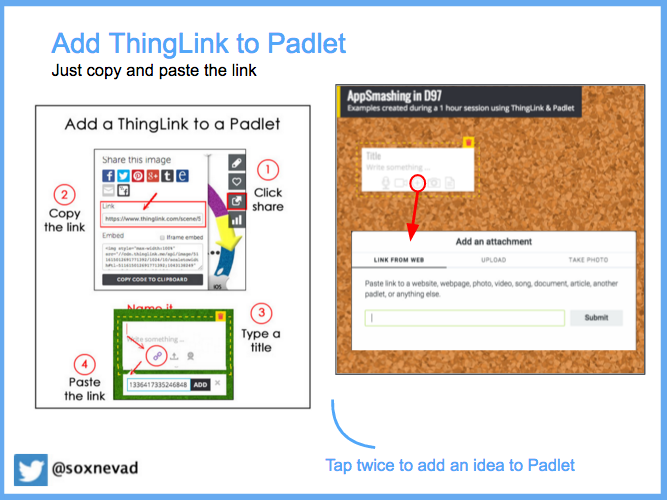 Add a ThingLink to Padlet