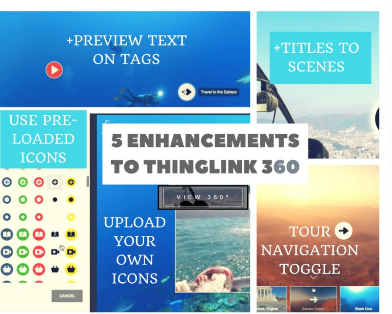 5 Enhancements to ThingLink 360