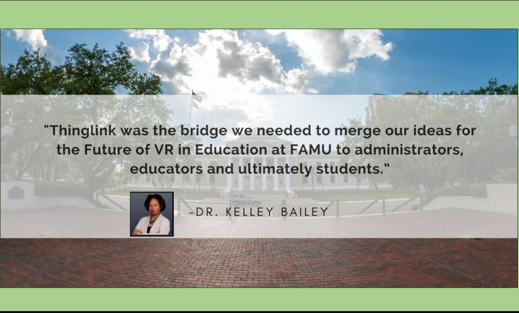 Dr. Kelley Bailey Quote FAMU