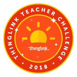 ThingLink Teacher Challenge 2018 Badge