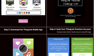 ThingLink Teacher Challenge 4 Steps